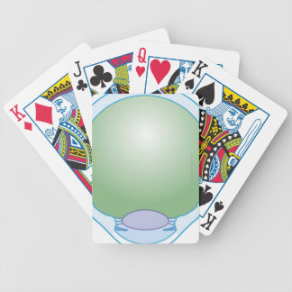 Illustration of Human Eye Bicycle Playing Cards