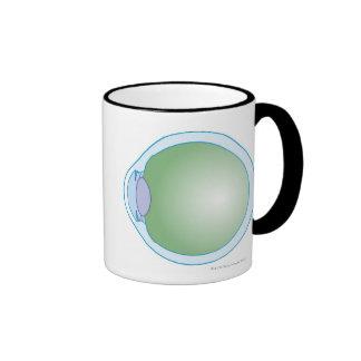 Illustration of Human Eye Coffee Mug