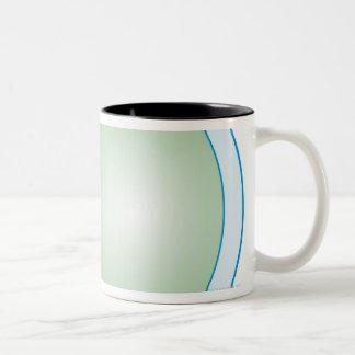 Illustration of Human Eye Two-Tone Coffee Mug