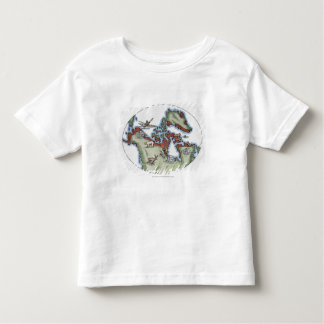 Illustration of Inuit territory Toddler T-Shirt