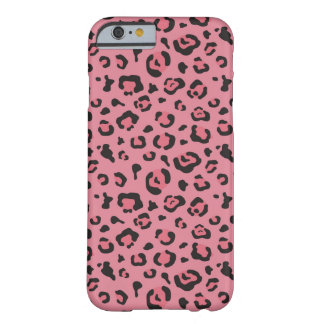 Illustration of Leopard Pink Animal Barely There iPhone 6 Case