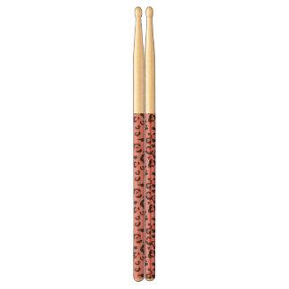 Illustration of Leopard Pink Animal Drumsticks