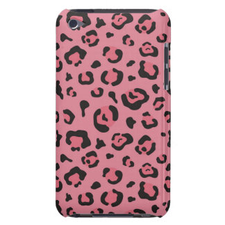 Illustration of Leopard Pink Animal iPod Touch Cases