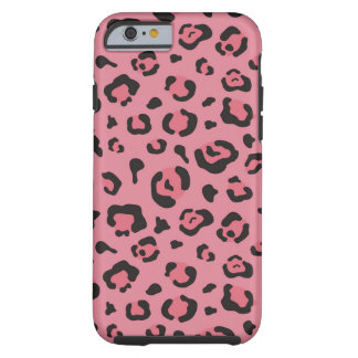 Illustration of Leopard Pink Animal Tough iPhone 6 Case
