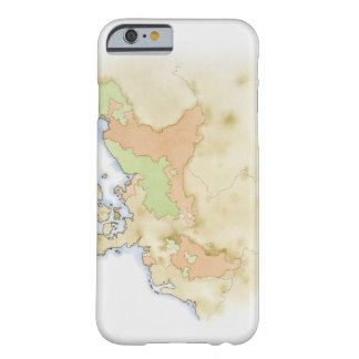 Illustration of map of Germany Barely There iPhone 6 Case