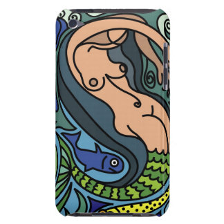 Illustration of Mermaid iPod Touch Case-Mate Case