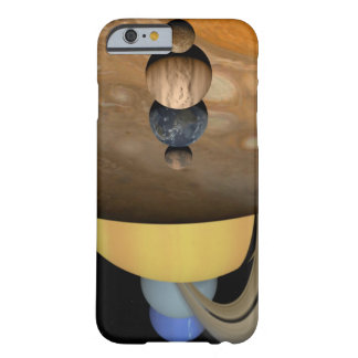 Illustration of Nine Planets in the Solar System Barely There iPhone 6 Case