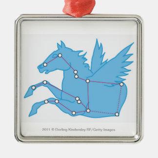 Illustration of Pegasus constellation Christmas Ornament
