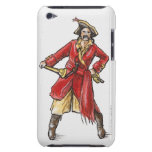Illustration of pirate barely there iPod cover