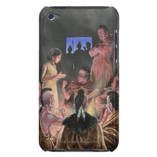 Illustration of Pocahontas speaking to her iPod Touch Case