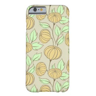 Illustration of pumpkins barely there iPhone 6 case