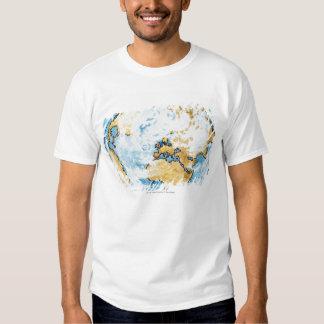 Illustration of satellite orbiting the Earth Shirt