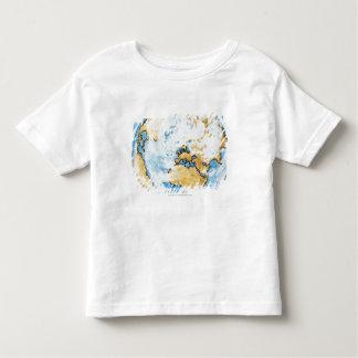 Illustration of satellite orbiting the Earth Toddler T-Shirt