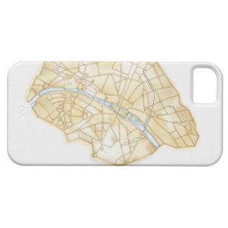 Illustration of streets of Paris during 1789 Case For The iPhone 5