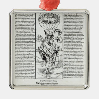 Illustration of Syphilis, 1496 Christmas Ornament