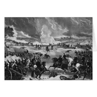 Illustration of the Battle of Gettysburg Card
