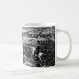 Illustration of the Battle of Gettysburg Coffee Mug