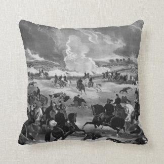 Illustration of the Battle of Gettysburg Cushion