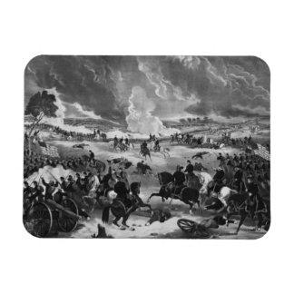 Illustration of the Battle of Gettysburg Magnet