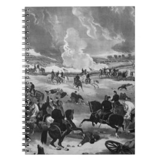 Illustration of the Battle of Gettysburg Note Books