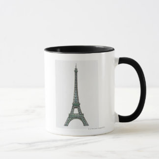 Illustration of the Eiffel Tower Mug