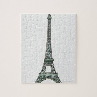Illustration of the Eiffel Tower Puzzle
