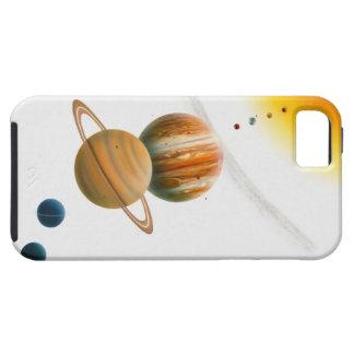 Illustration of the Sun, Mercury, Venus moon Case For The iPhone 5