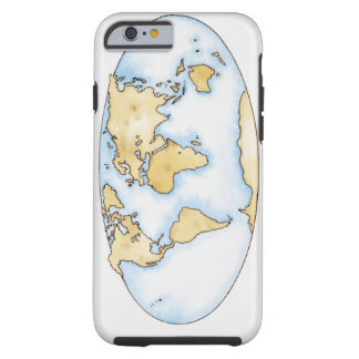 World map background iphone 66s cases world map background illustration of world map tough iphone 6 case gumiabroncs Choice Image