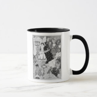 Illustration, probably from The Battle of the Beau Mug