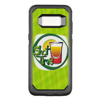 "Illustration Shot with lemon ""Shot Time"" OtterBox Commuter Samsung Galaxy S8 Case"