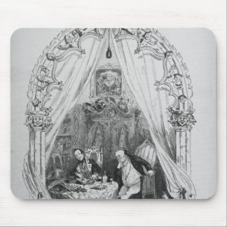 Illustration `The Pickwick Papers' by Charles Mouse Mat
