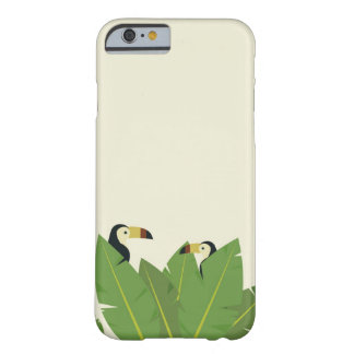 Illustration toucan tropical bird cell phone cover