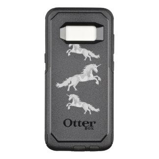 Illustration White Unicorn OtterBox Commuter Samsung Galaxy S8 Case