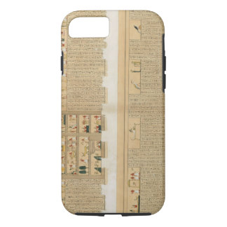 Illustrations of a Pampus manuscript with hierogly iPhone 8/7 Case