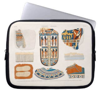 Illustrations of decorative details from the wrapp laptop sleeve
