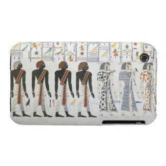 Illustrations of hieroglyphics from the Tombs of t Case-Mate iPhone 3 Cases