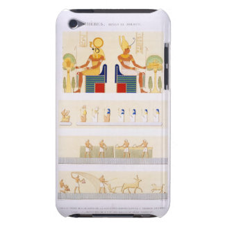 Illustrations of painted boards and murals from th barely there iPod cover