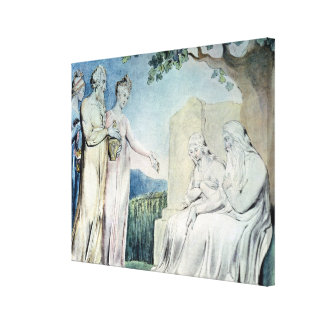 Illustrations of the Book of Job Canvas Print