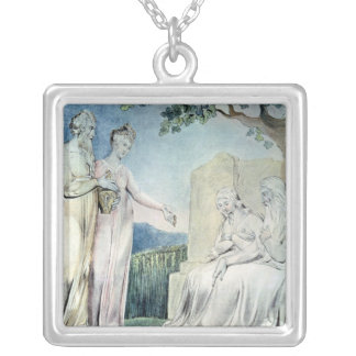 Illustrations of the Book of Job Silver Plated Necklace