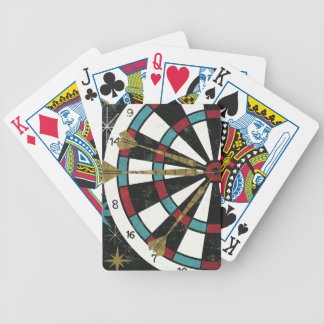 Illustrative Dart Board Bicycle Playing Cards