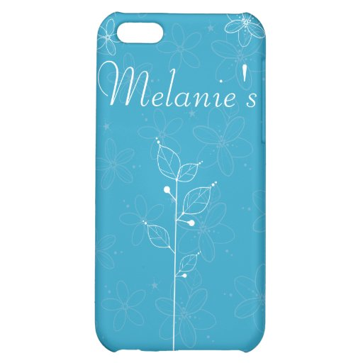 illustrative flowers iPhone 5C covers