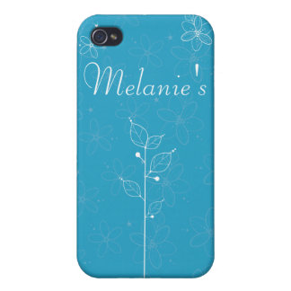 illustrative flowers iPhone 4 cases