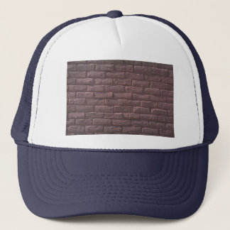 Illustrative Red brick wall Trucker Hat