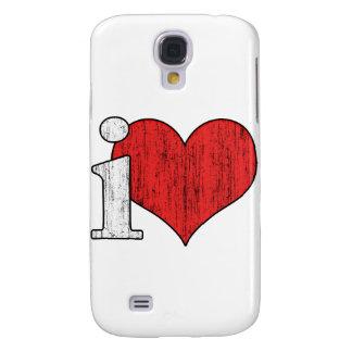 iLove Galaxy S4 Cover