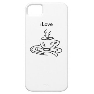 iLove Coffee Case For The iPhone 5