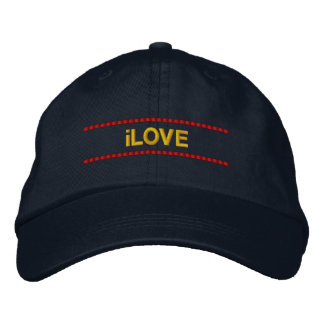 iLOVE Hat Embroidered Hats