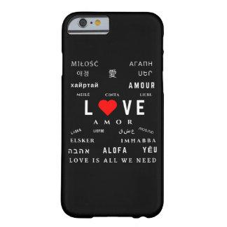 iLove | iPhone 6/6s Phone Case | Black
