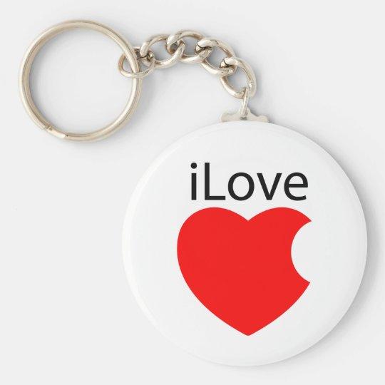 iLove keychain