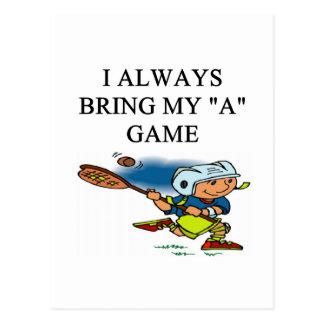 ilove lacrosse postcard