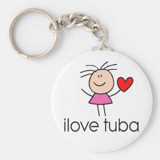 iLove Tuba Gift Key Ring